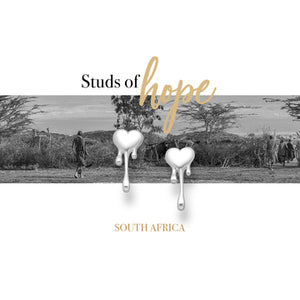 Silver Melting Heart - South Africa