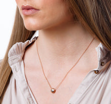 Load image into Gallery viewer, Rose Gold Tear Drop Pendant