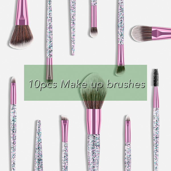 Professionelle Make-up Pinsel 10 tlg.