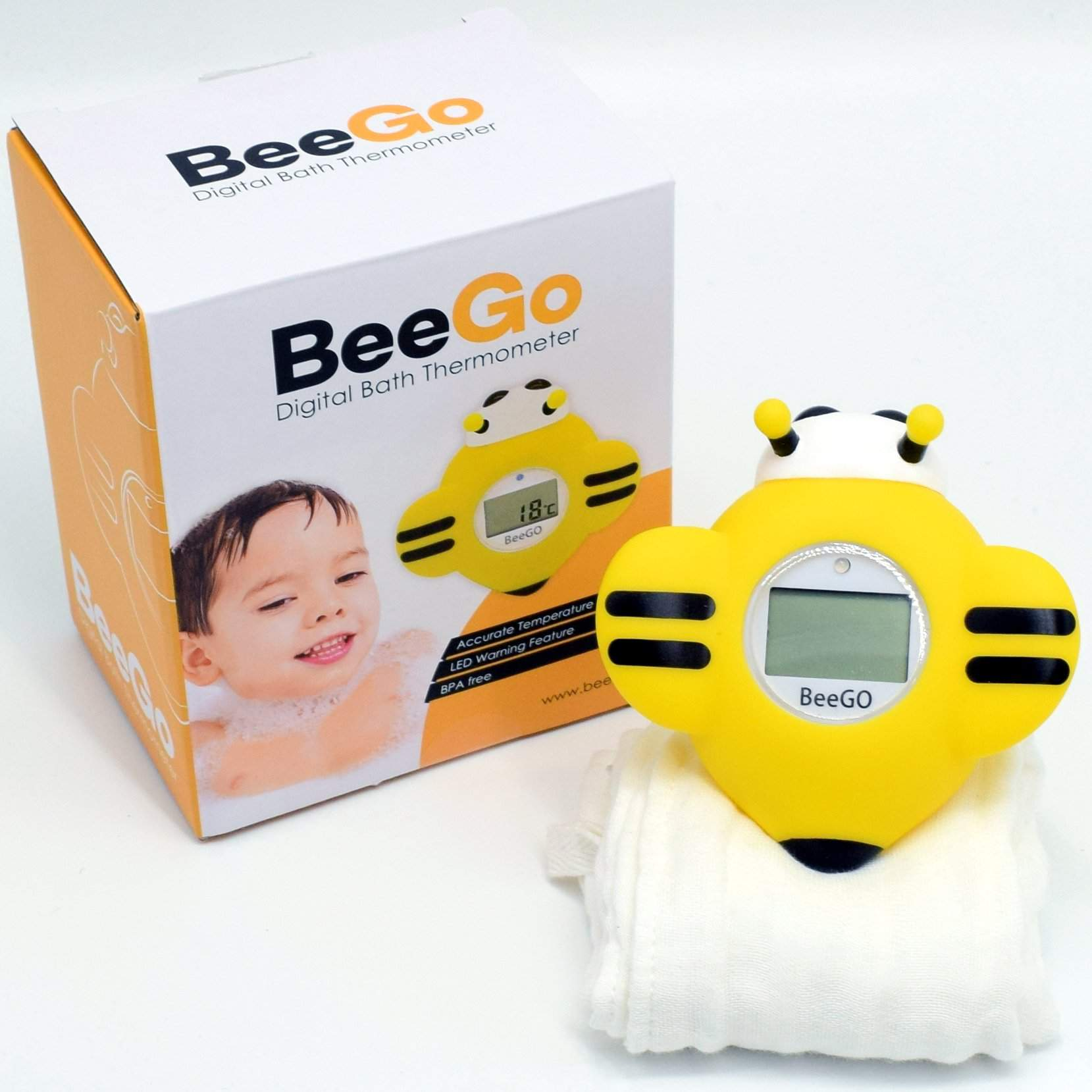 BeeGo Baby Bath Thermometer - Beego Child Safety Products
