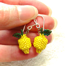 Load image into Gallery viewer, Lemon Sunshine Earrings