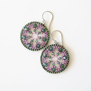Color Pop Snowflake Earrings