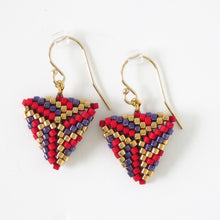 Load image into Gallery viewer, Elegant Triangle Earrings