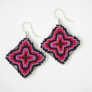 Sample Sale #8--Beaded diamonds, 2 colors