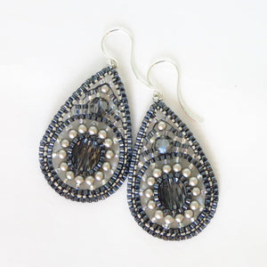 Celestial Teardrop Earrings