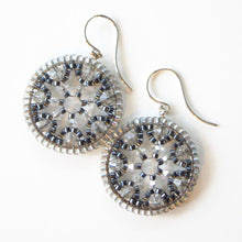 Load image into Gallery viewer, Color Pop Snowflake Earrings