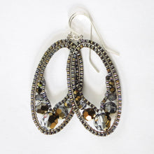 Load image into Gallery viewer, Swarovski Ellipse Earrings