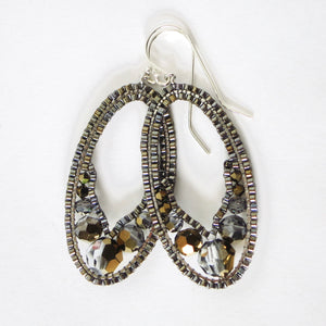 Swarovski Ellipse Earrings