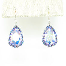 Load image into Gallery viewer, Reflective Large Teardrop Earrings