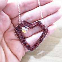 Load image into Gallery viewer, Sample Sale #32--Heart Necklace