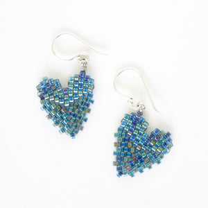 Mini Heart Charm Earrings