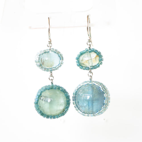 Aquamarine Drops, One-of-a-Kind