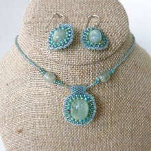 Load image into Gallery viewer, Aquamarine Pendant Necklace