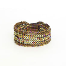 Load image into Gallery viewer, Herringbone Snap Bracelet