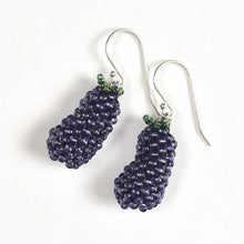 Load image into Gallery viewer, Eggplant Earrings