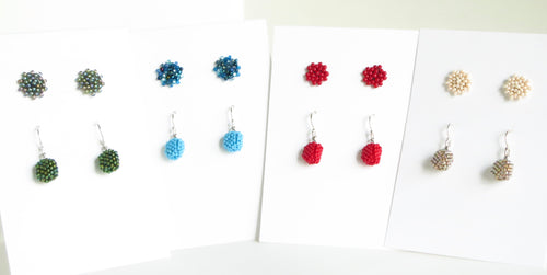 Tiny Earrings Set