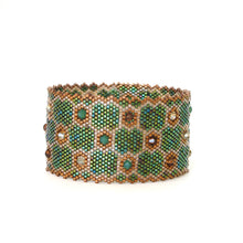Load image into Gallery viewer, Shaped Swarovski Cuff