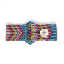 Load image into Gallery viewer, Chevron Buckle Bracelet