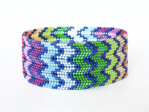 Chevron Bracelet, Wide