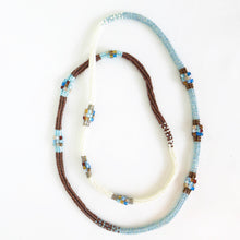 Load image into Gallery viewer, Easy Herringbone Rope Necklace