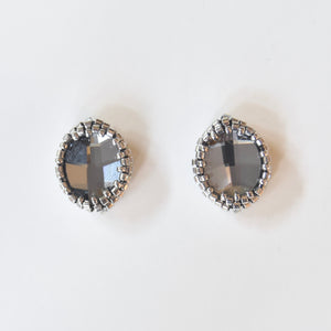 Swarovski  Leaf Post Earrings