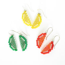 Load image into Gallery viewer, Citrus Slice Mini Earrings