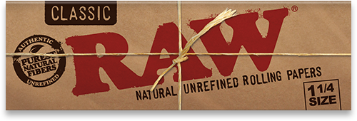 RAW Classic Natural Unrefined Papers