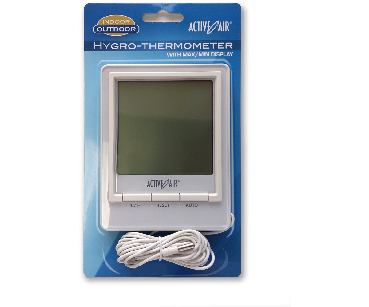 Active Air INDOOR THERMOMETER W/ HYGROMETER