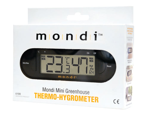 Mini Greenhouse Thermo-Hygrometer - Mondi