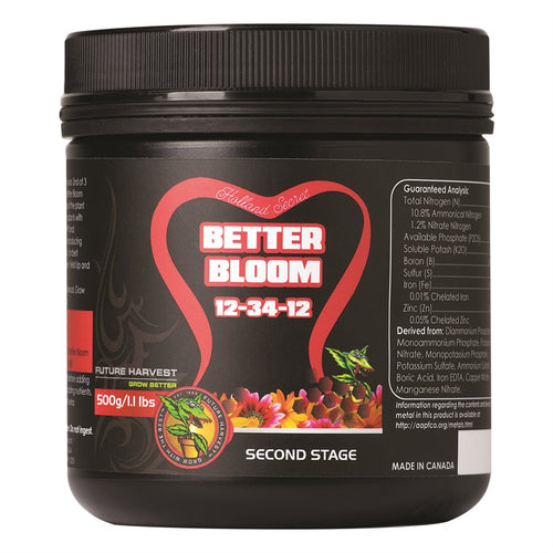 Better Bloom 12-34-12 500Gr