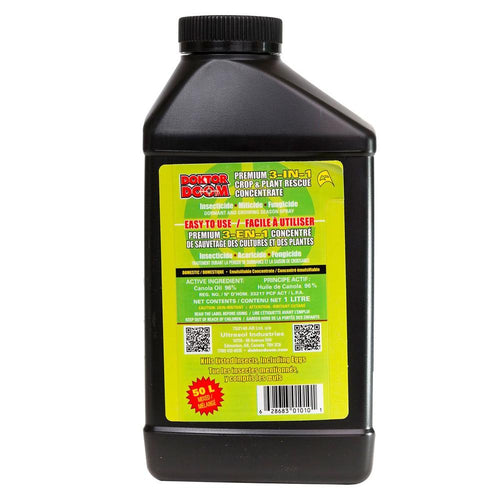 Doktor Doom Premium 3-IN-1 Plant / Crop Rescue Concentrate. 1L