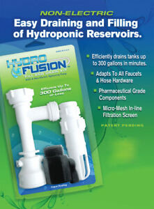 Hydro Fusion Fill - Drain Kit
