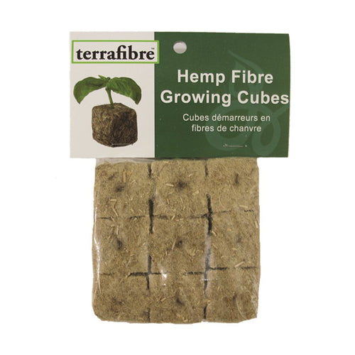 "Terrafibre 1.5"" Growing Cubes (9 pack)"