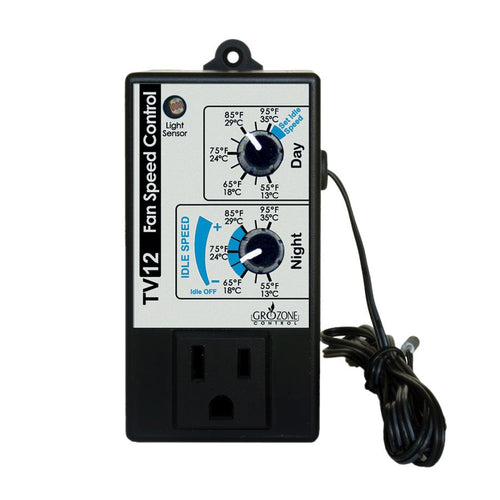 GroZone TV12 - Day/Night Variable Fan Speed Controller
