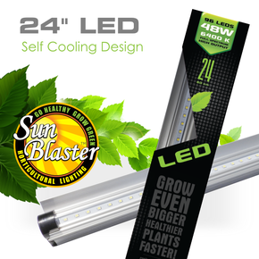 "SunBlaster 24"" LED Light Strip HO 6400K 24W"