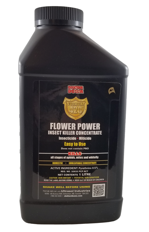 Doktor  Doom Formula 420 - Flower Power Insect Killer Concentrate. 1L