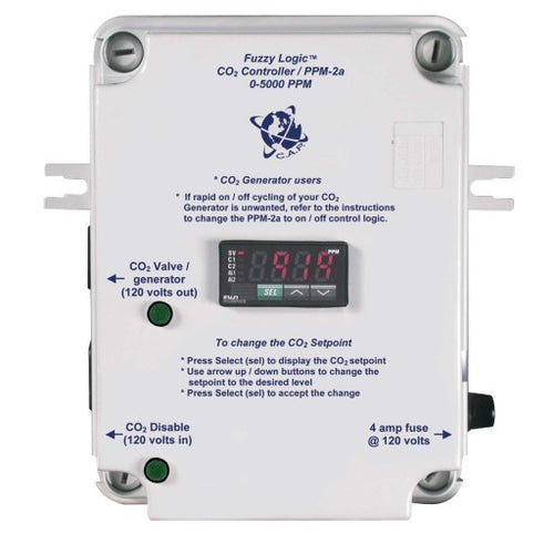 CO2 PPM Monitor, Complete w/PPM Sensor