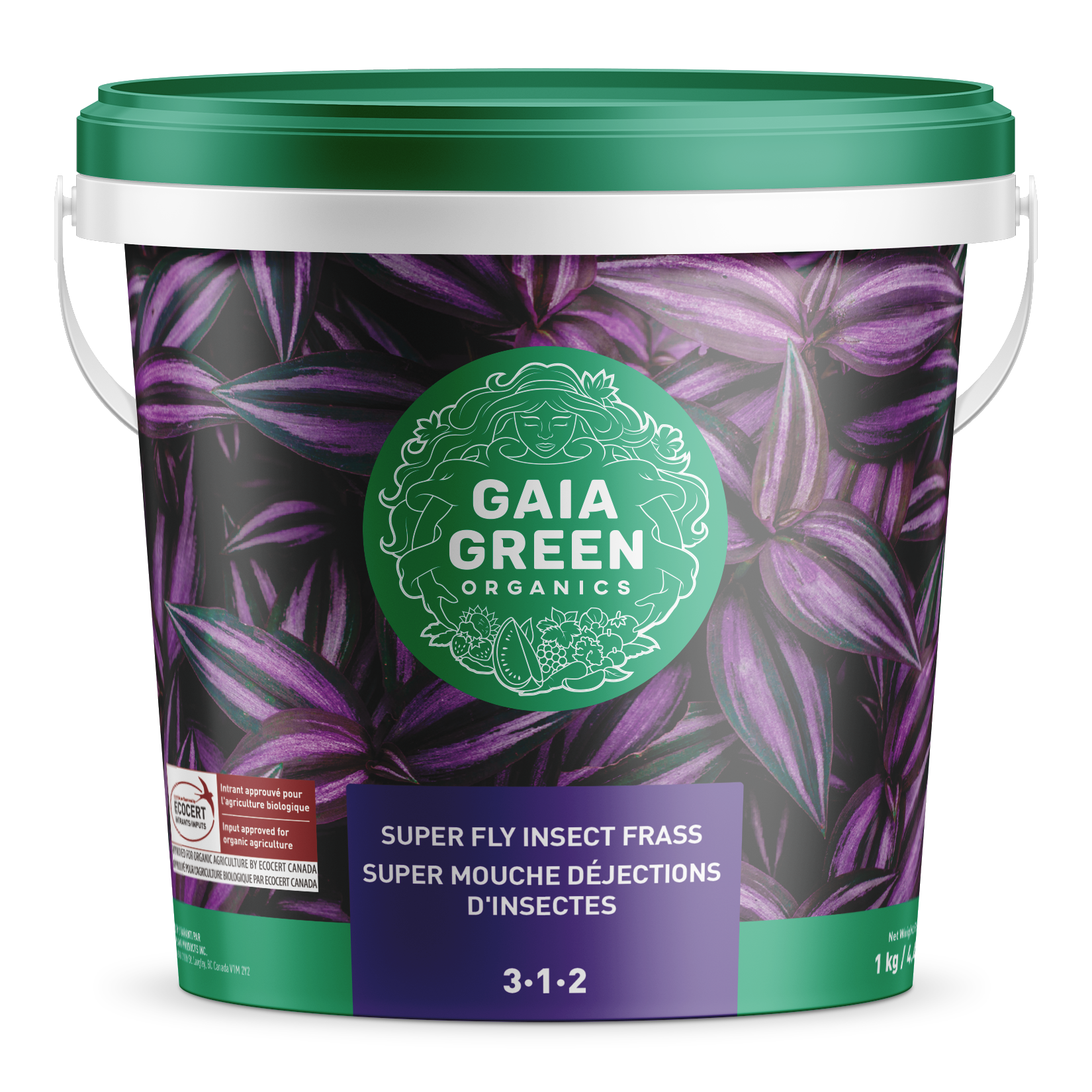 Gaia Green Super Fly Insect Frass 1Kg
