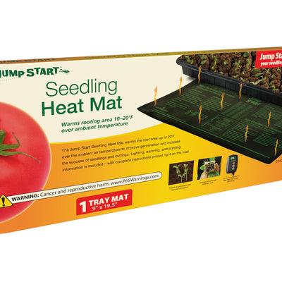 "Jump Start Seedling Heat Mat, 8.875"" x 19.5"", 17W"