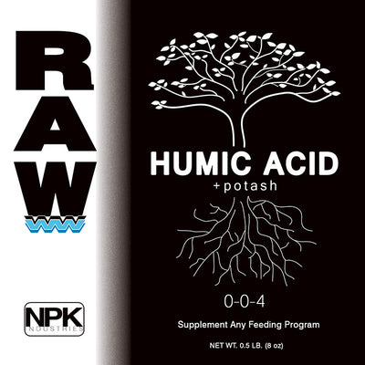 NPK Raw - Carbon Humic Acid - 2oz