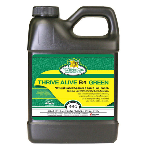 Technaflora Thrive Alive B1 Green OMRI - 500 ml
