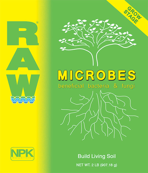 NPK Raw - Grow Microbes- 2oz