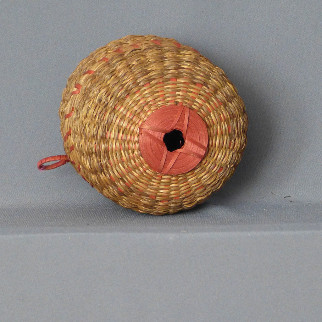 Penobscot Native American 2 Part Darning or Sewing Basket   AMC2099