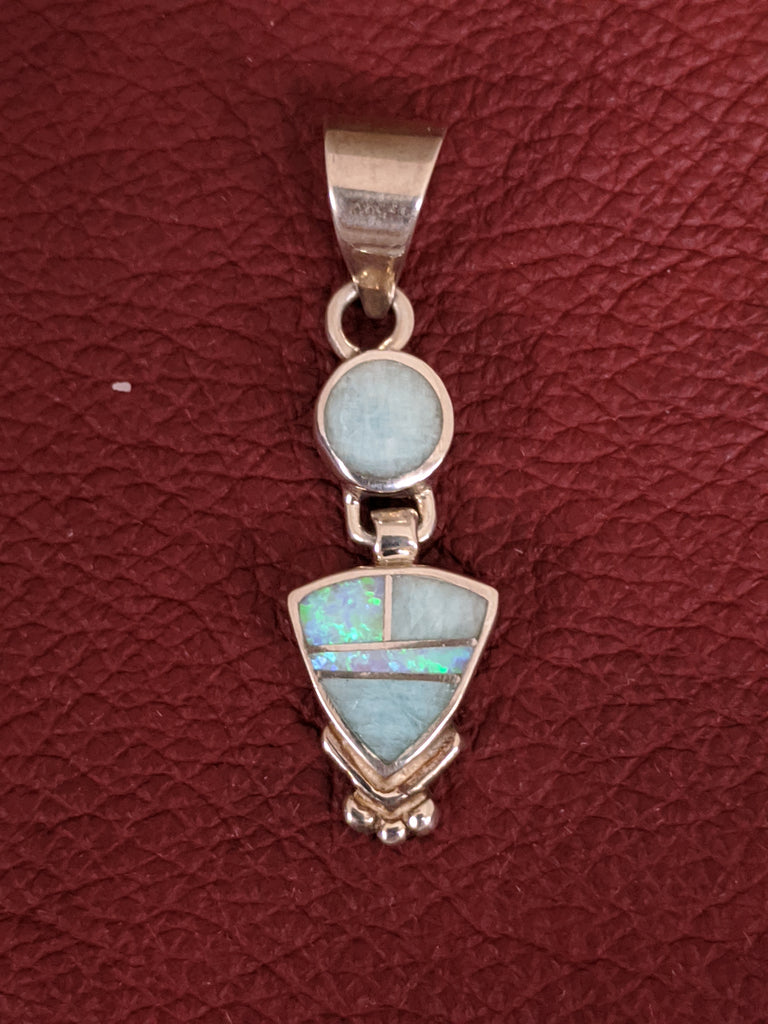 Cultured Opal Pendant by Designer David Rosales