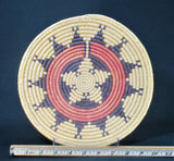 San Juan Paiute Coiled Wedding or Medicine Basket by Natalie King Edgewater