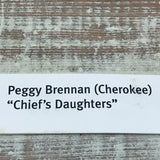Peggy Brennan, Cherokee Basket - Title: Chief's Daughter  AC7