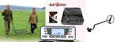 "Detech SSP 5100 Pro Pack Deep Seeking Metal Detector System with 1 Meter Square + 18"" Round Coils"