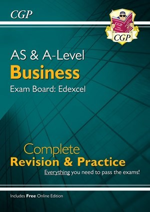 New AS and A-Level Business: Edexcel Complete Revision & Practice with Online Edition