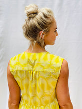 Load image into Gallery viewer, Die Somer Rokkie - yellow cotton print