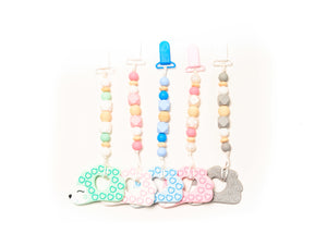 Hedgehog Teether Toy Clips